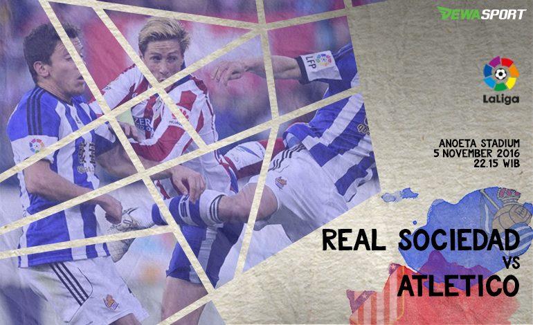 Prediksi Pertandingan Antara Real Sociedad Melawan Atletico Madrid