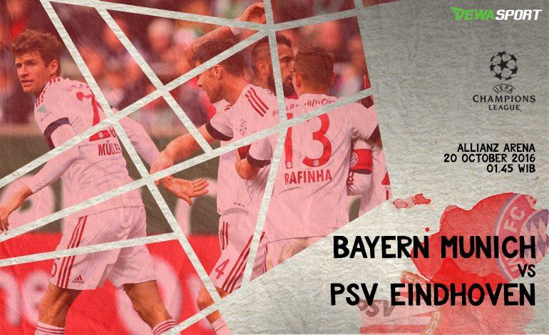 Prediksi Pertandingan Antara Bayern Munchen Melawan PSV Eindhoven