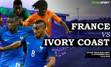 Prediksi Pertandingan Antara Prancis Melawan Pantai Gading