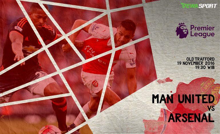 Prediksi Pertandingan Antara Manchester United Melawan Arsenal