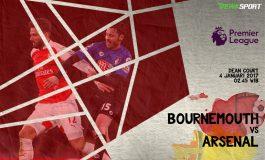 Prediksi Pertandingan Antara Bournemouth melawan Arsenal
