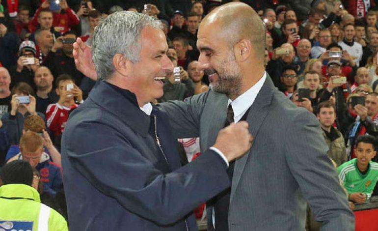 Guardiola dan Mourinho Berciuman di Barcelona