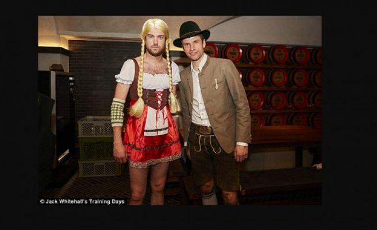 Aksi Gokil Beberapa Pemain Timnas Jerman Bersama Komedian Youtube