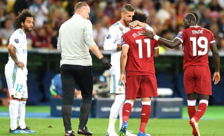 Dihujat Fans Liverpool, Sergio Ramos Beri Doa Terbaik untuk Mohamed Salah