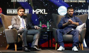 Tinju Dunia: Telat Bayar Panjar, Matthysse vs Pacquiao Terancam
