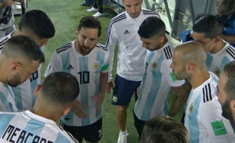 Pidato Messi di Lorong Stadion Jadi Cerita Lain Drama Argentina