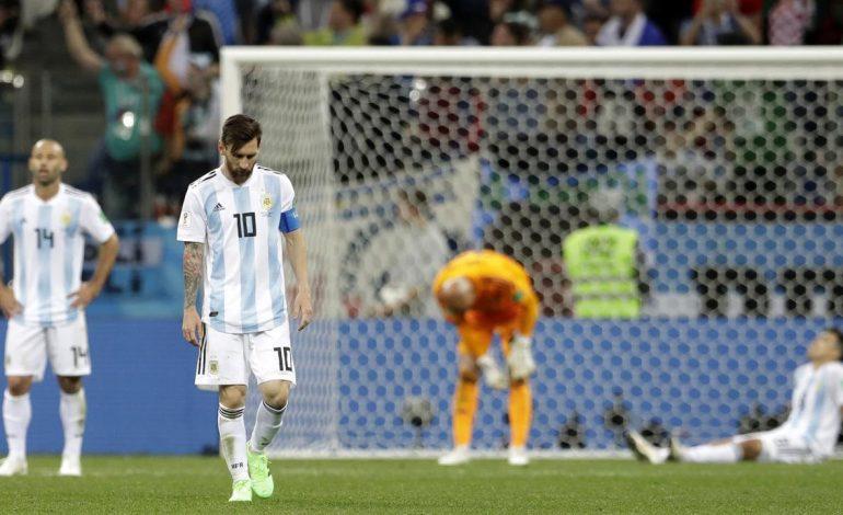 Gagal di Piala Dunia 2018, Messi Dijemput Istri di Barcelona