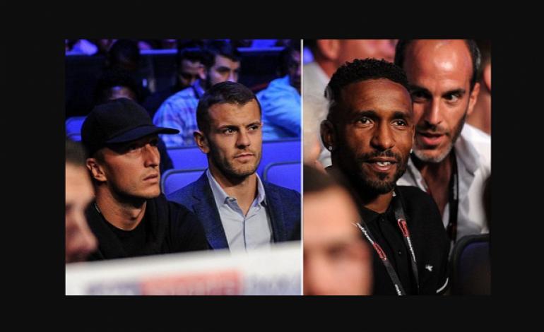 Beberapa Pemain Bintang Liga Inggris Menghiasi Pertandingan Tinju Dillian Whyte VS Joseph Parker