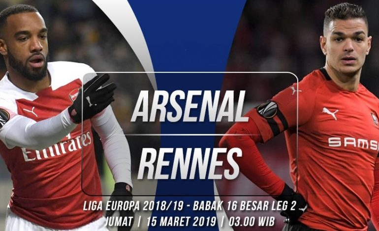 Preview Arsenal vs Rennes: Jalan Mendaki di Emirates
