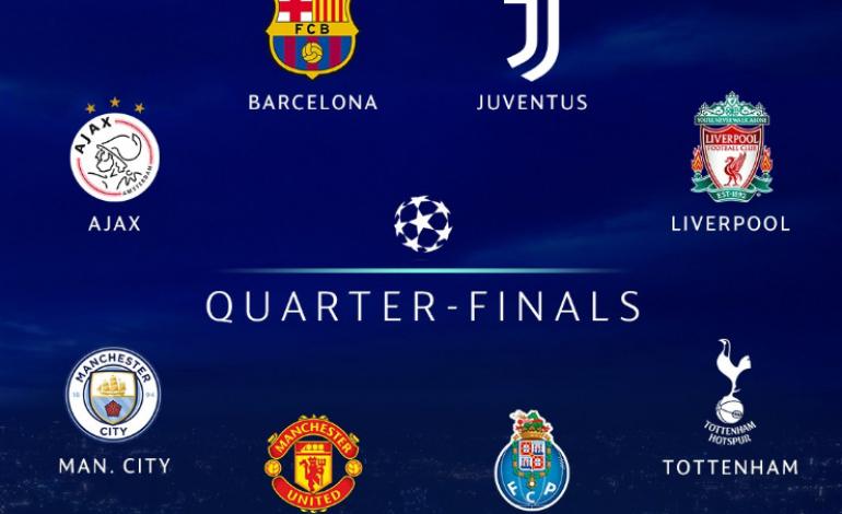 Hasil Undian Perempat Final Liga Champions 2018/2019