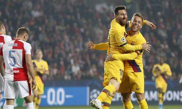 Hasil Pertandingan Slavia Praha vs Barcelona: Skor 1-2