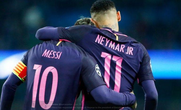 Messi Sempat Berpikir Neymar Akan Pindah ke Madrid