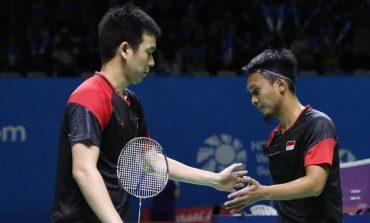 Disingkirkan Pasangan Malaysia, Ahsan/Hendra Tersingkir dari Fuzhou China Open 2019