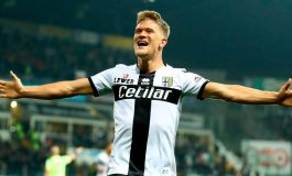 Man of the Match Parma vs AS Roma: Andreas Cornelius