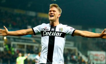 Man of the Match Parma vs AS Roma: Andreas Cornelius