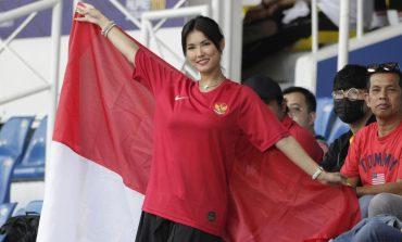 Miyabi Dukung Timnas Indonesia U-22 Saat Hadapi Thailand