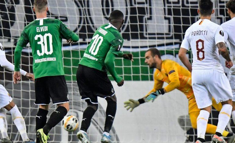 Man of the Match Borussia Monchengladbach vs AS Roma: Marcus Thuram