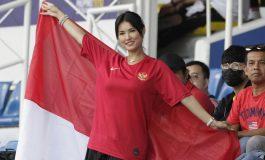 Maria Ozawa Tonton Lagi Aksi Timnas Indonesia di SEA Games 2019