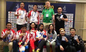 Susanto Megaranto dan Medina Aulia Sumbang Emas Ke-65 untuk Indonesia