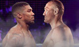 Tyson Fury dan Anthony Joshua Sepakat Bertarung pada 2021