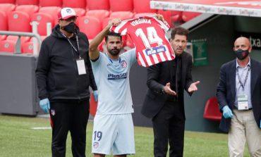 Diego Costa Persembahkan Golnya untuk Pemain Atletico Madrid Penderita Tumor