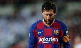 Barcelona Konfirmasikan Lionel Messi Alami Cedera