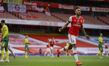 Arsenal Bungkam Norwich City, Aubameyang Lewati Rekor Henry