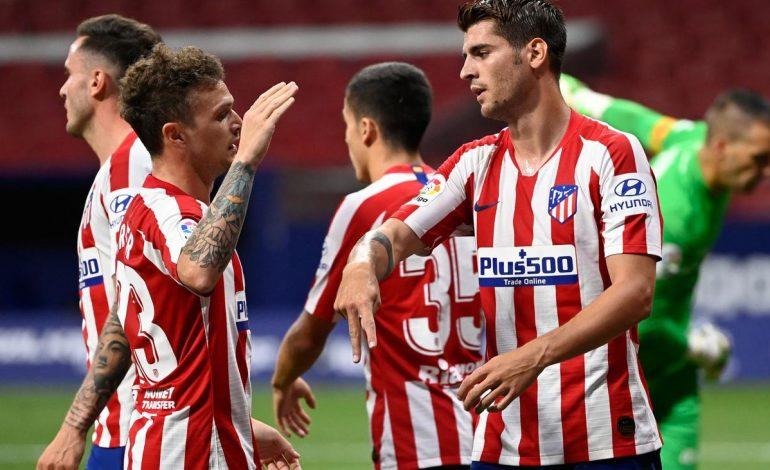 Morata 2 Gol, Atletico Madrid Bantai Real Mallorca