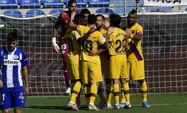 Hasil Pertandingan Alaves vs Barcelona: Skor 0-5