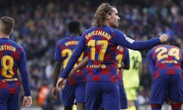 Antoine Griezmann tak Bisa Samai Raihan Neymar di Musim Perdananya di Barcelona
