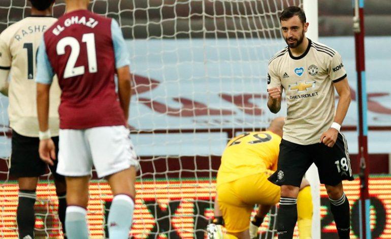 Man of the Match Aston Villa vs Manchester United: Bruno Fernandes