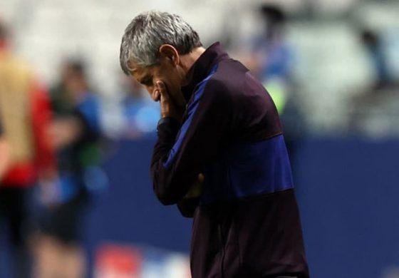 Curahan Hati Quique Setien usai Barcelona Kalah 2-8 dari Bayern Munchen