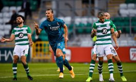 AC Milan Libas Shamrock Rovers, Stefano Pioli Puji Zlatan Ibrahimovic