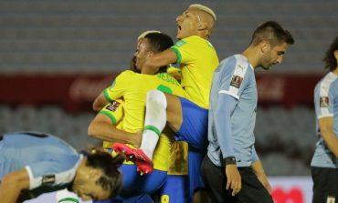 Hasil Pertandingan Uruguay vs Brasil: Skor 0-2