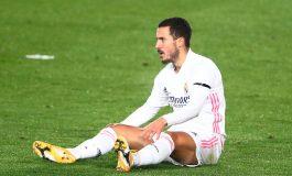 Cedera Otot, Eden Hazard Bisa Absen hingga Dua Pekan