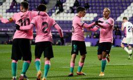 Valladolid vs Barcelona: Messi Sumbang Gol, Blaugrana Menang 3-0