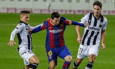 Hasil Pertandingan Barcelona vs Levante: Skor 1-0