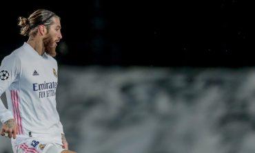 Sergio Ramos Cedera Saat Pemanasan dan Harusnya Absen Lawan Athletic Bilbao?