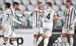 Juventus vs Crotone: Ronaldo Dua Gol, Bianconeri Menang 3-0