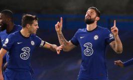 Man of the Match Chelsea vs Newcastle: Olivier Giroud