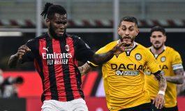 AC Milan vs Udinese: Penalti Kessie Selamatkan Rossoneri dari Kekalahan