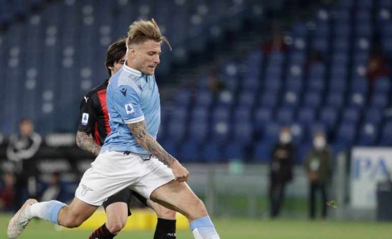 Man of the Match Lazio vs AC Milan: Ciro Immobile