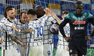 Hasil Pertandingan Napoli vs Inter Milan: Skor 1-1