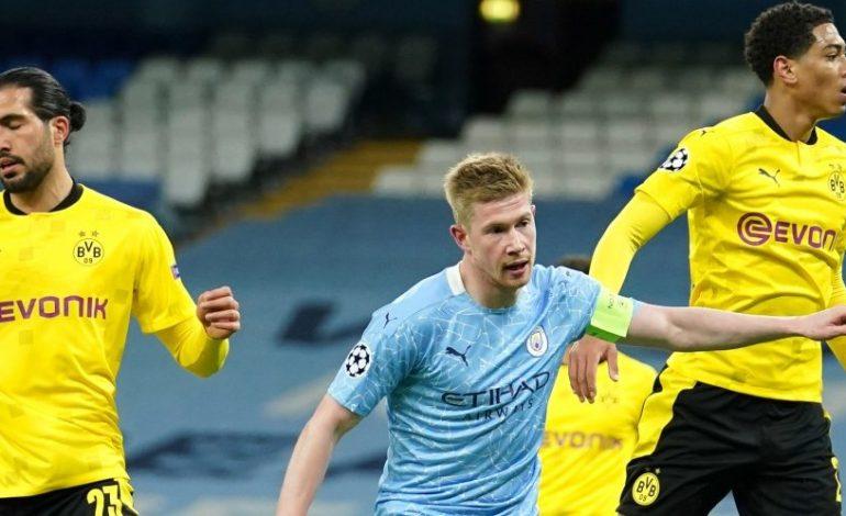 Hasil Pertandingan Manchester City vs Borussia Dortmund: Skor 2-1