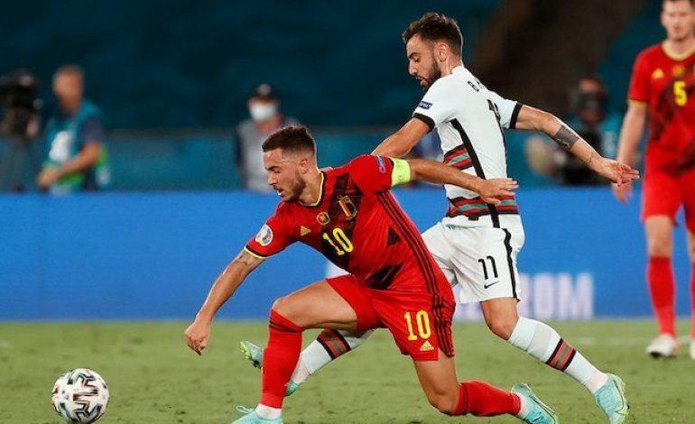 Belgia Lolos Perempat Final Euro 2020, Eh Eden Hazard Cedera Lagi