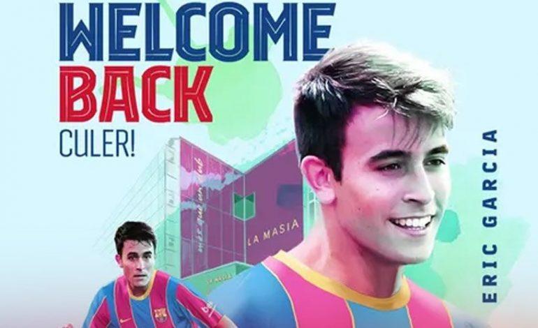 Barcelona Resmi Dapatkan Eric Garcia