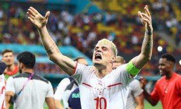 Ironi Granit Xhaka: Gemilang di 16 Besar, Absen di Perempat Final Euro 2020