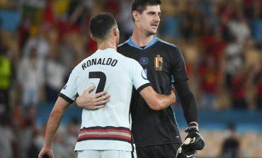 Dingin! Skill Mewah Thibaut Courtois yang Sukses Gocek Cristano Ronaldo