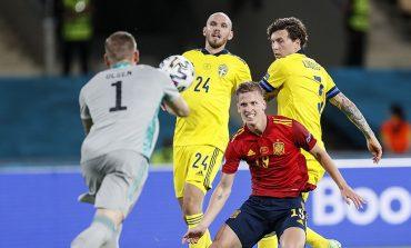 Man of the Match Spanyol vs Swedia: Victor Lindelof