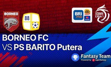 Sedang Tayang di Vidio, Live Streaming BRI Liga 1 Borneo FC vs Barito Putera